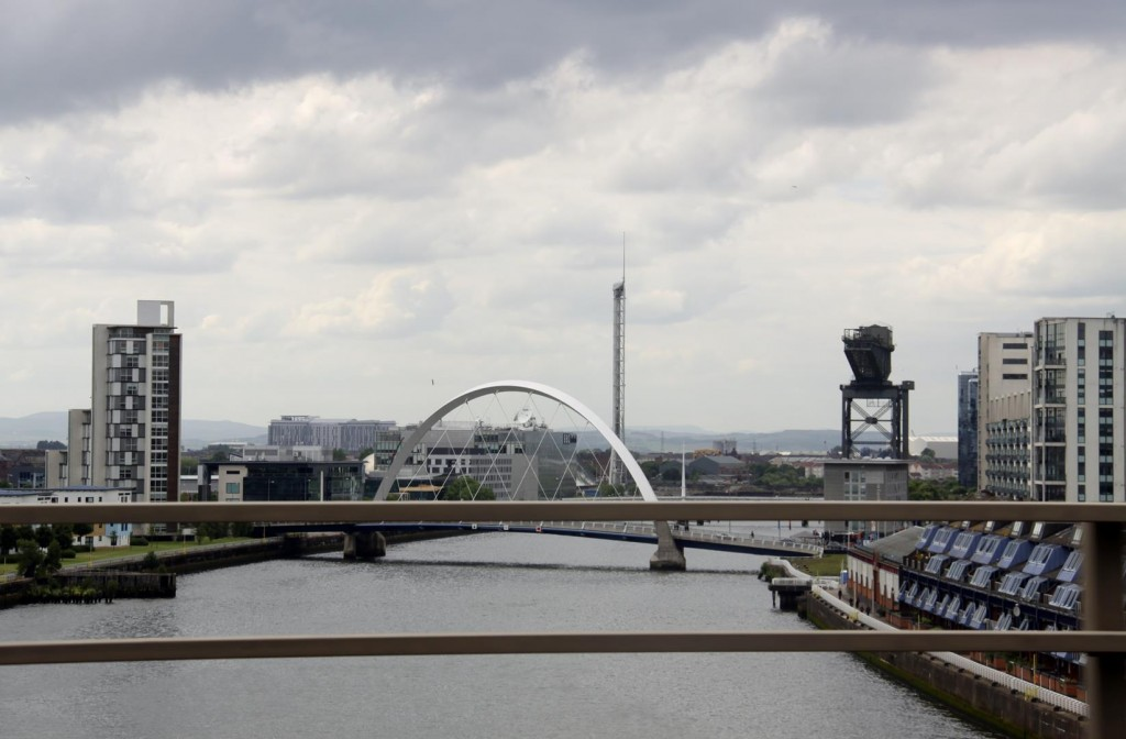 The Glasgow Bridges Over the Firth of Clyde