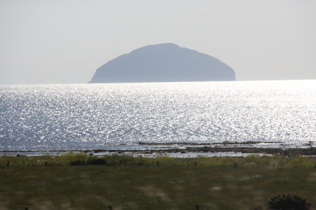 Ailsa Craig Looks Spectacular in the Late Afternoon Sun off Girvan