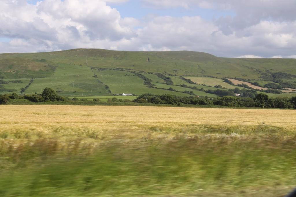 The Rich Pastures Around Girvan