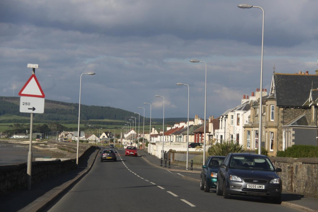 We have Time to take a Drive into Stranraer near Cairnryan, the Ferry Terminal for Northern Ireland