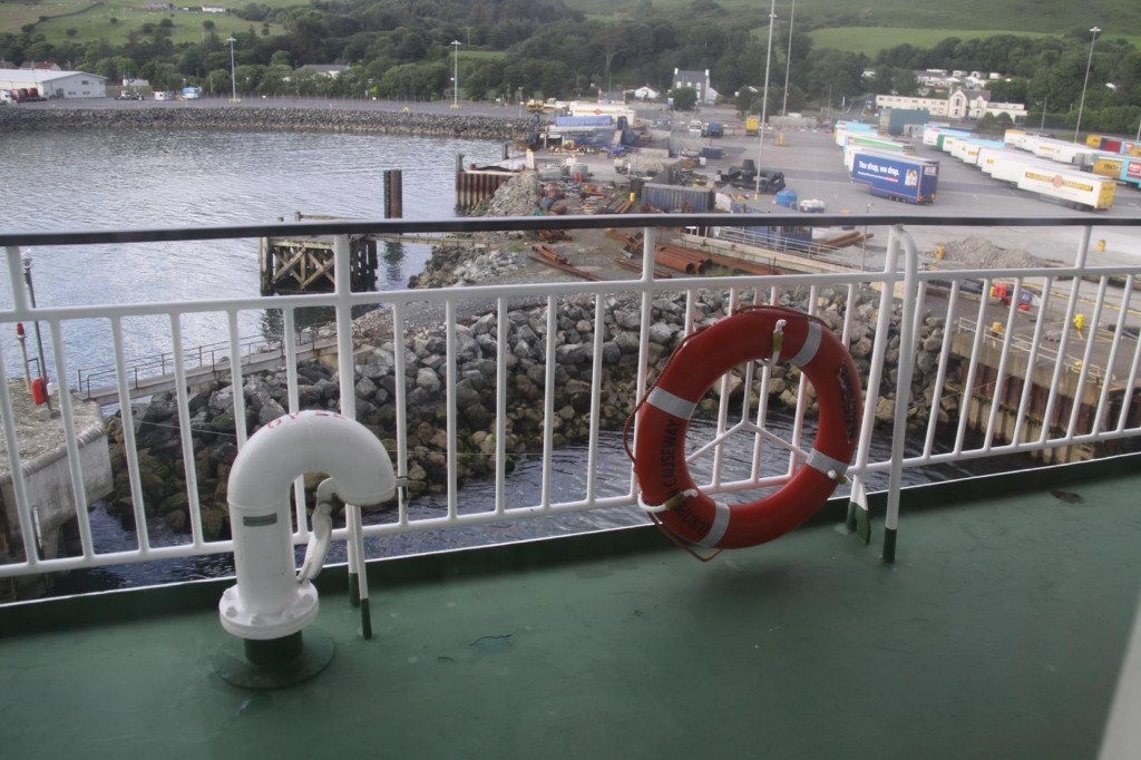 We Board a Ferry in Cairnryan for our Trip to Belfast