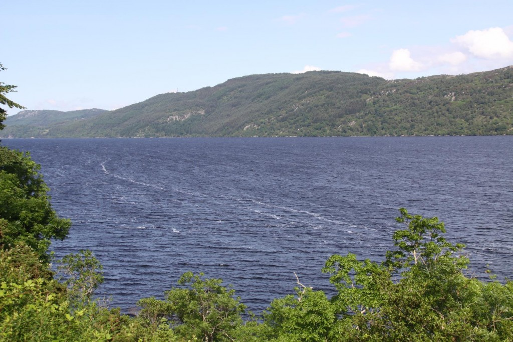 No Sign of the Loch Ness Monster