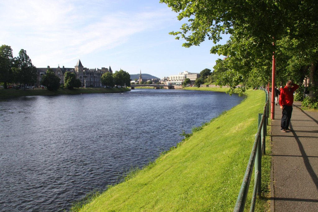 306 The Ness River Runs Through the City of Inverness