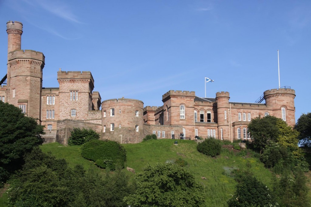 338 Iverness Castle Stands Imposing on the River Ness in the Heart of the City is Today Used as a Court House