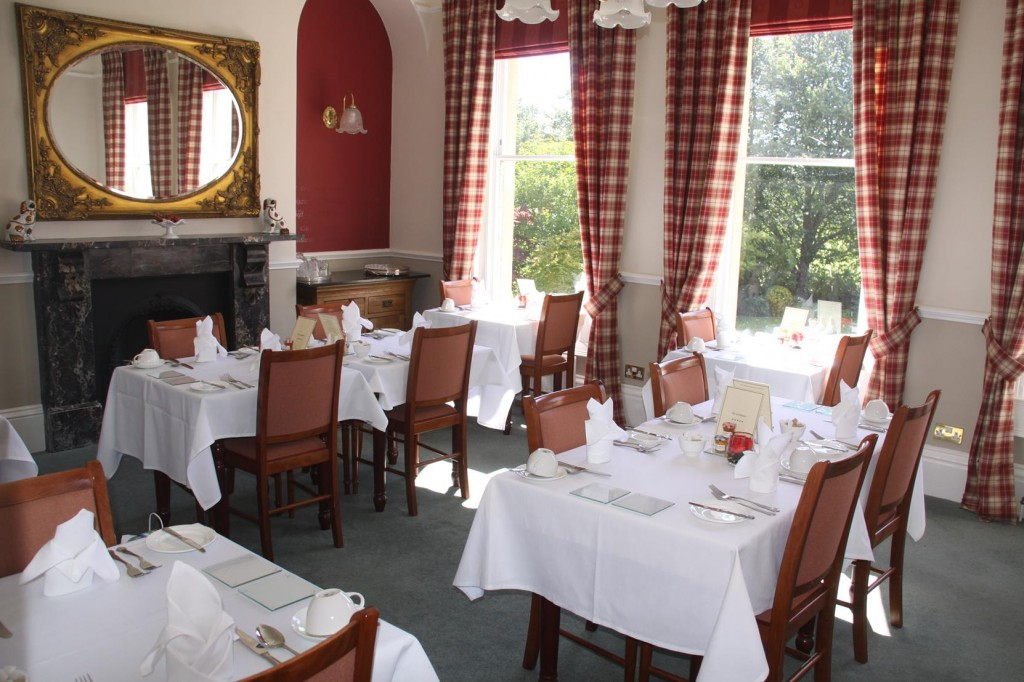 The Breakfast Room at the Ayrlington Hotel