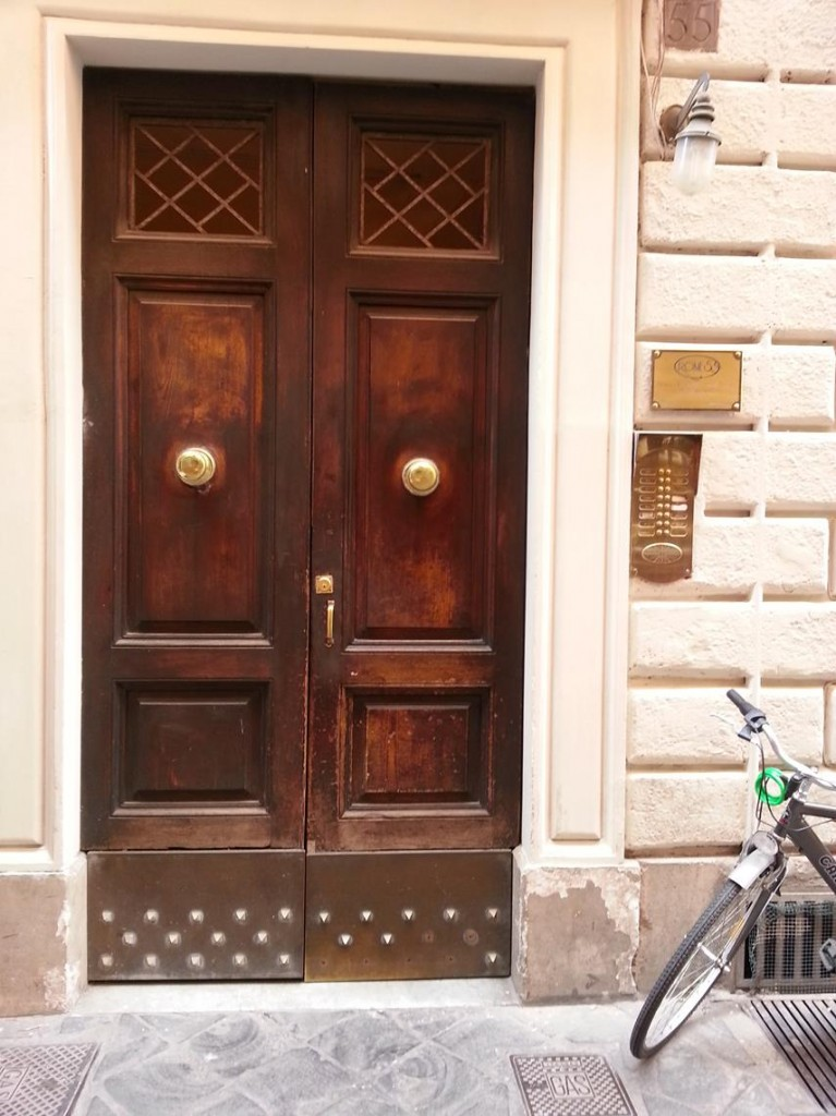 "Our Accommodation in Rome at ""Rome 55"" by Piazza Di Spagna"