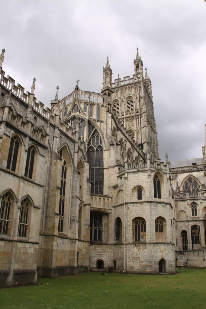 Gloucester Cathedral in the Cotswolds