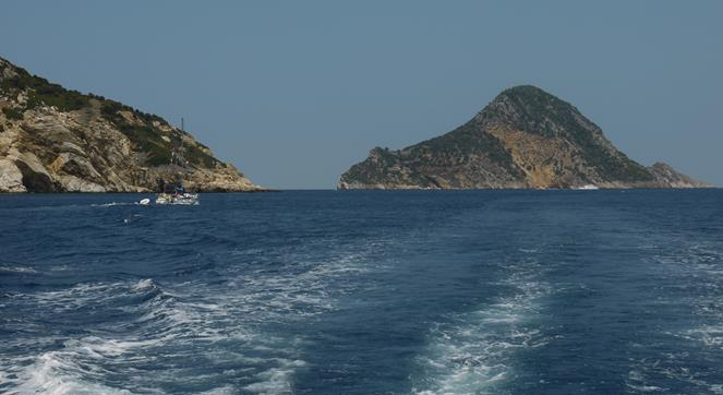 Time to Depart the Port and Find a Lovely bay for Swimming