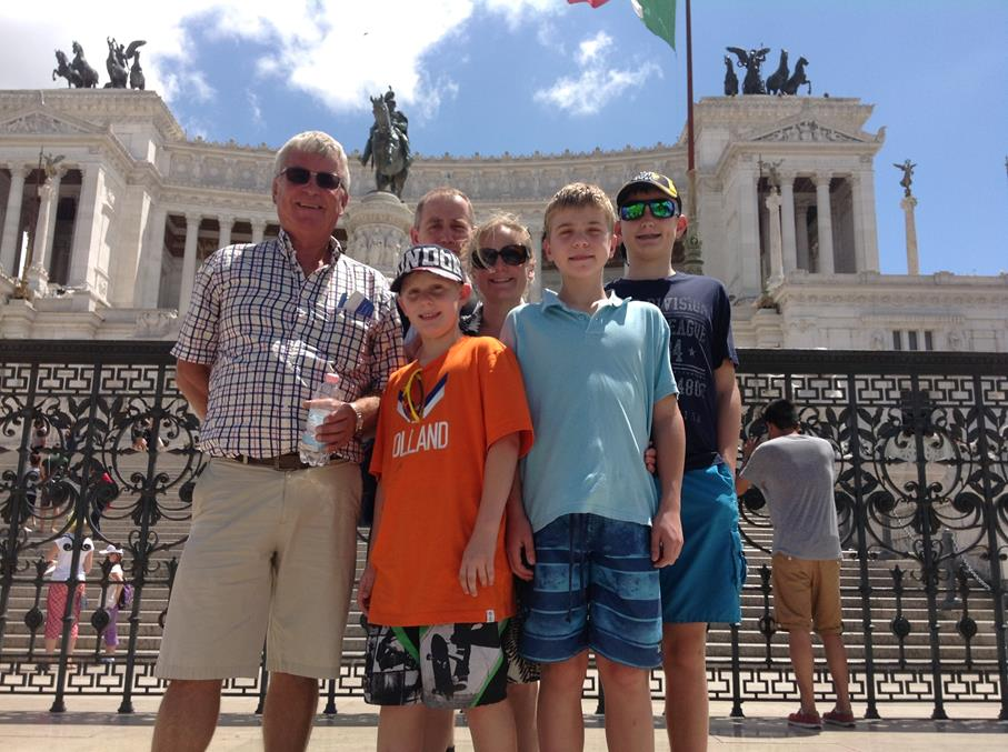 We Meet Our Family for a Sightseeing Tour of Rome