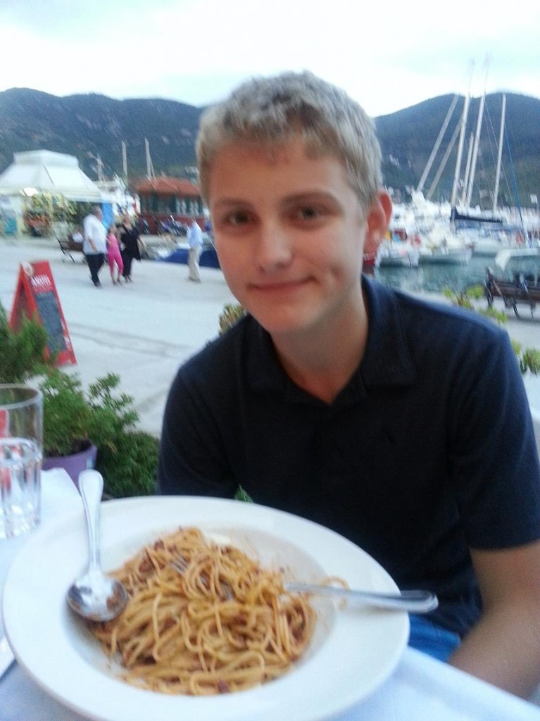 Spaghetti for Hamish