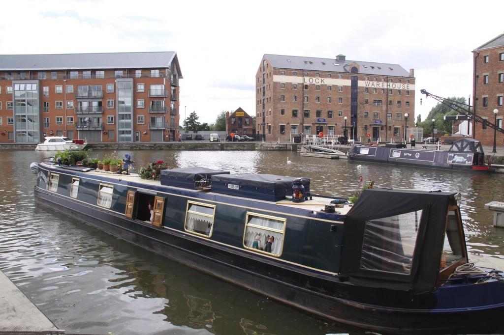 Many Longboats at the Docks