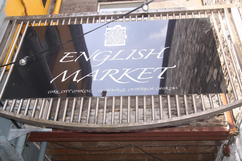 While in Cork we Visit the English Market