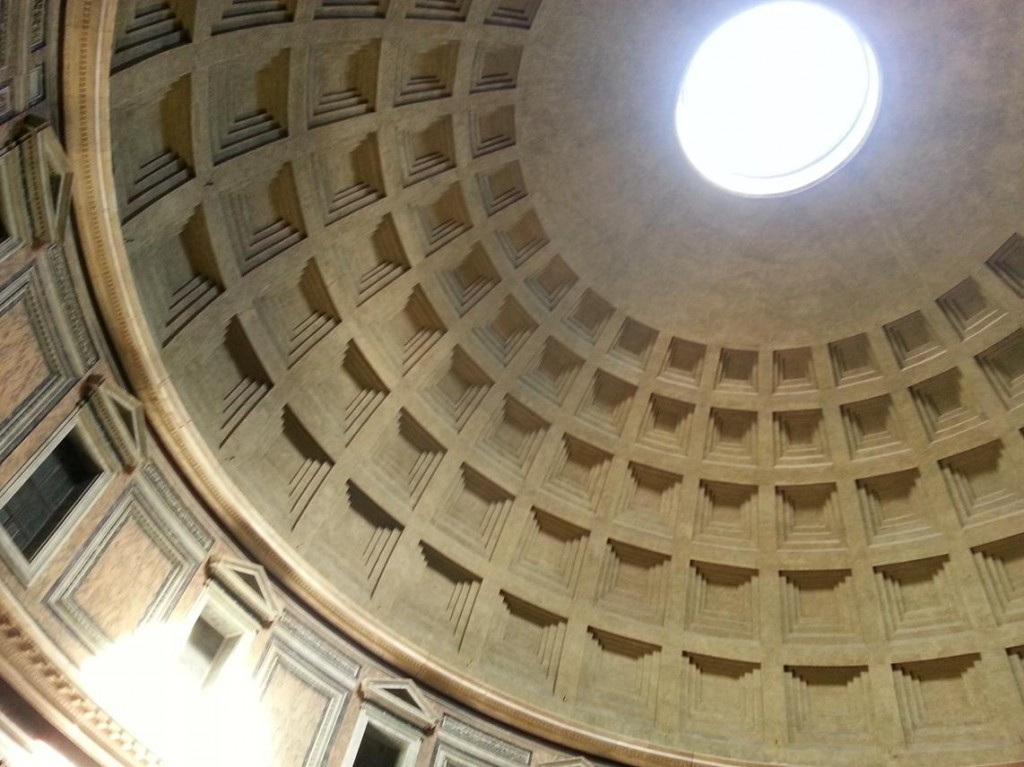 The Amazing Ceiling of the Pantheon