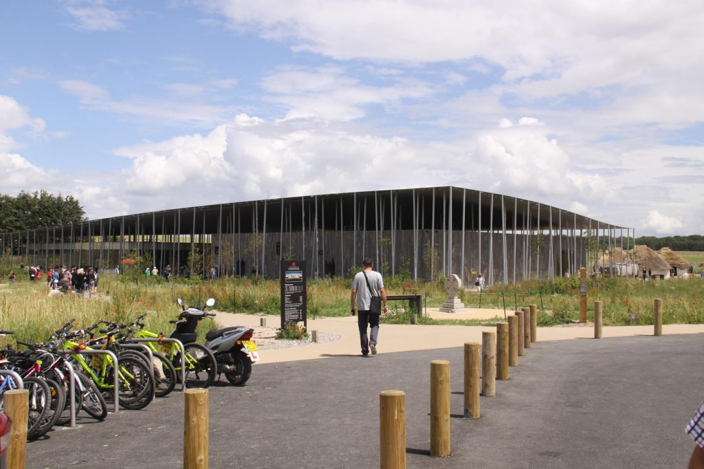 The Newly Opened Stonehenge Visitor Centre Near Airmans Cross