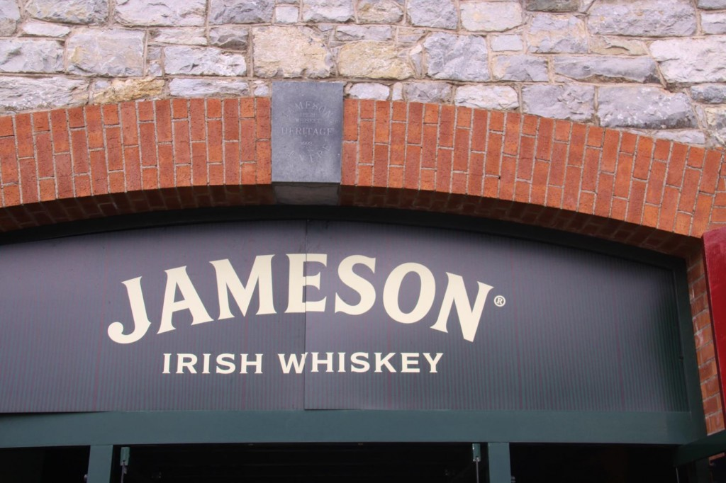 Our Next stop is to the Jameson Whiskey Distillery