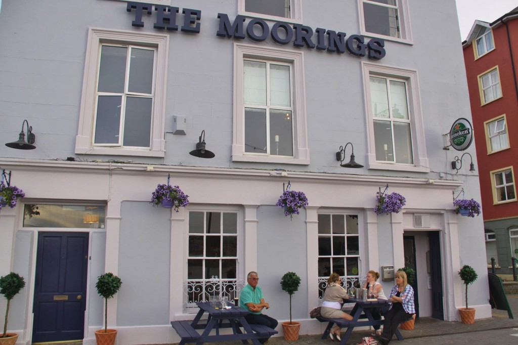 "Fortunately ""The Moorings"" has a Room Available  for the Night"