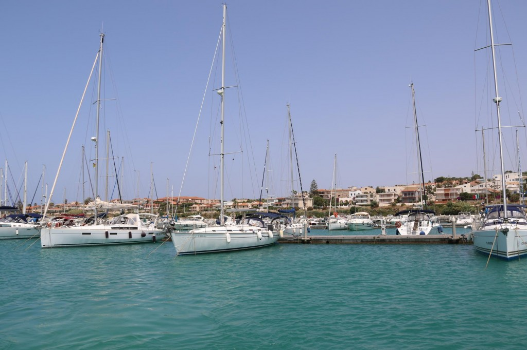 After a couple of lovely days of sightseeing we depart from spacious Marina Di Ragusa