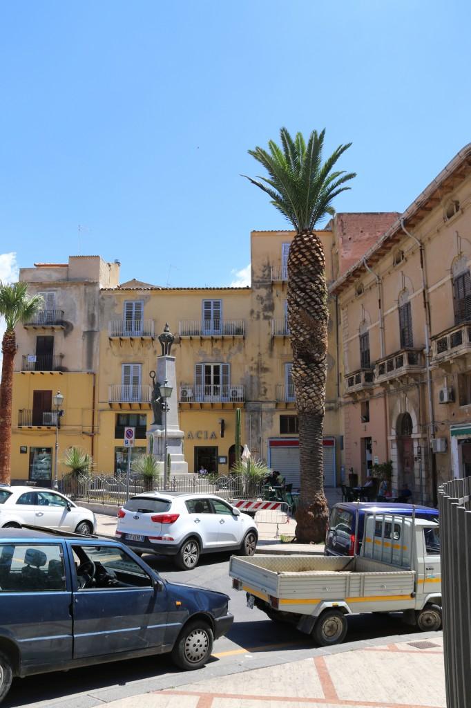 Piazza Progresso is the main square in Licata