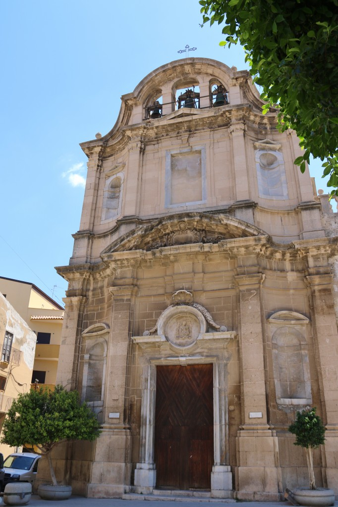One of the larger churches in Licata