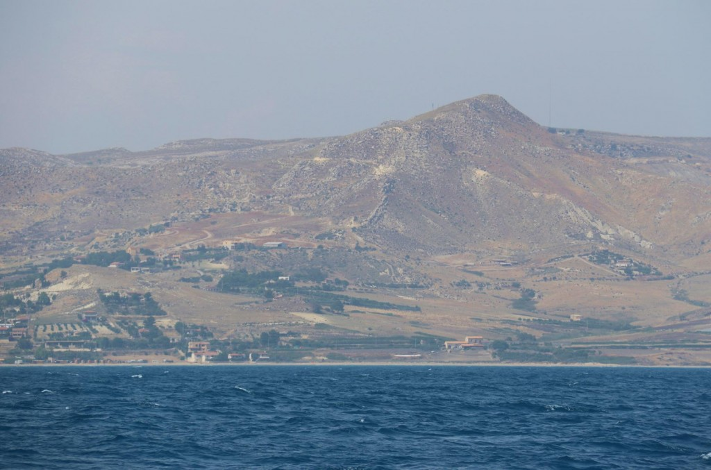 Apart from the volcanic hills and mountains, Sicily is quite fertile along the coast and in the lowlands