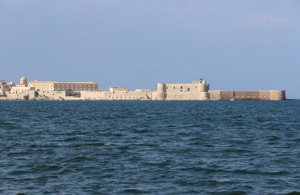 A great view of the castle  from this side of the bay