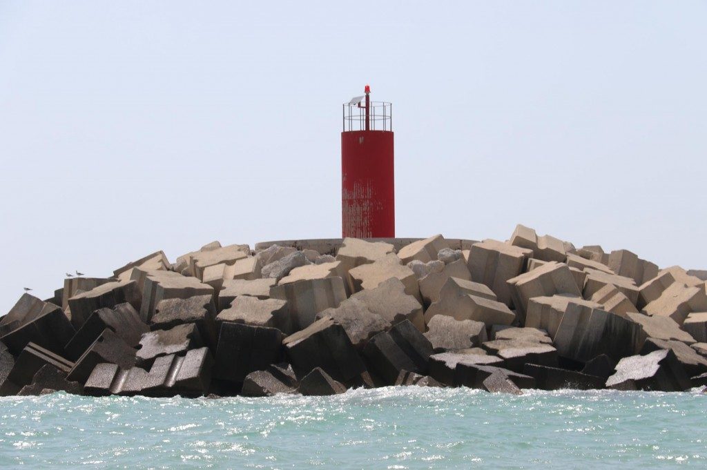 A lot of concrete has been used in many ports to create secure moorings for vessels along the southern coast of Sicily