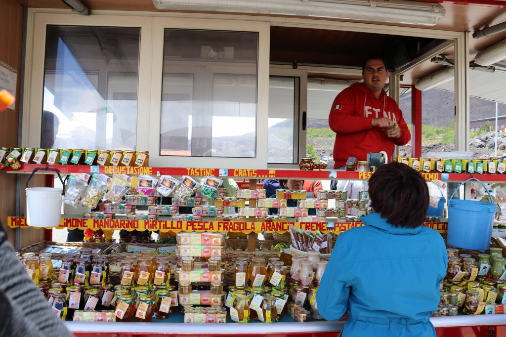 A stall selling local honey in many flavours seemed popular with a lot of the tourists