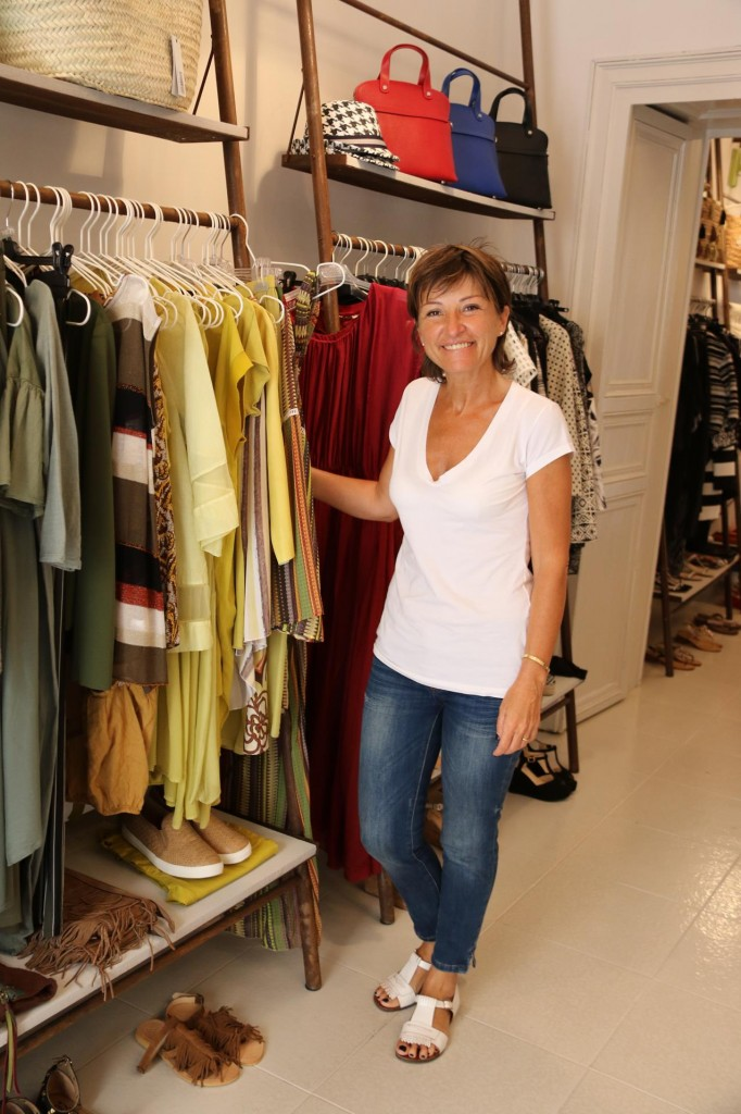 We also did some shopping at Silvia's new boutique called Scic.li in Scicli