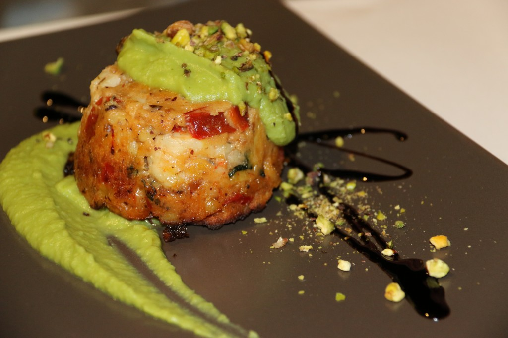 Tasty Tuna with Green Pea Sauce to share
