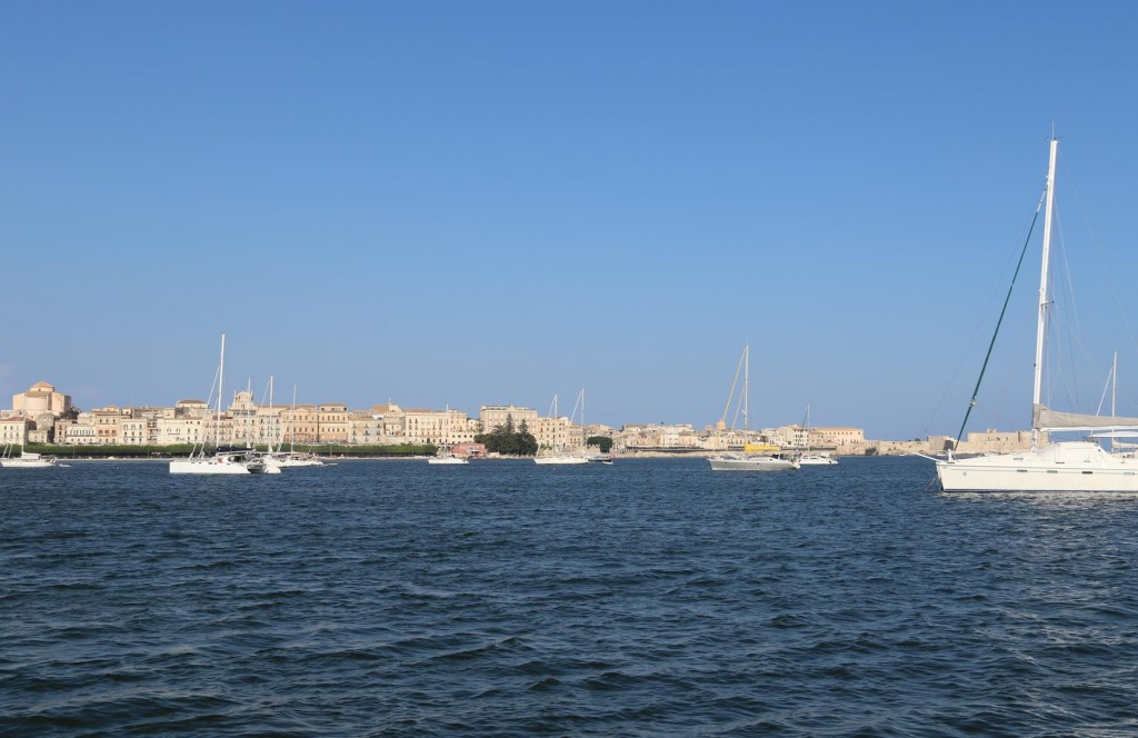 It has become busy in the north of the Grand Harbour today