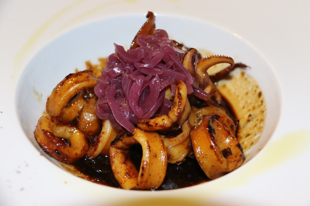 Sensational Squid in Soy Sauce