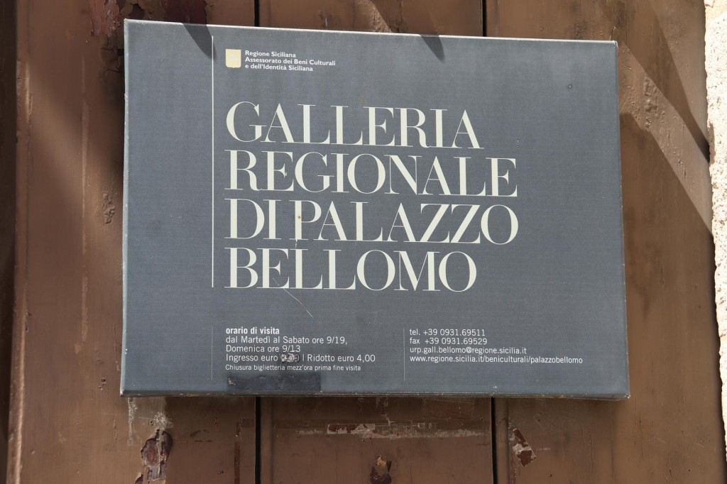 Our next stop is the Galleria Regionale Di Palazzo Bellomo which is a museum which also displays artworks