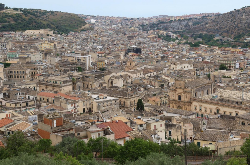 The ancient town of Scicli