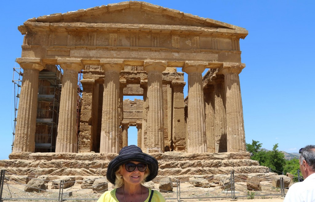 The Temple of Concord with it's elegant lines is one of the perfect examples of Greek architecture in Sicily