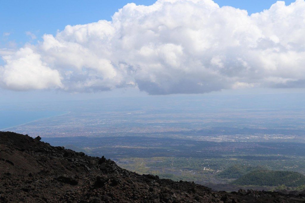 Great views from Mt Etna