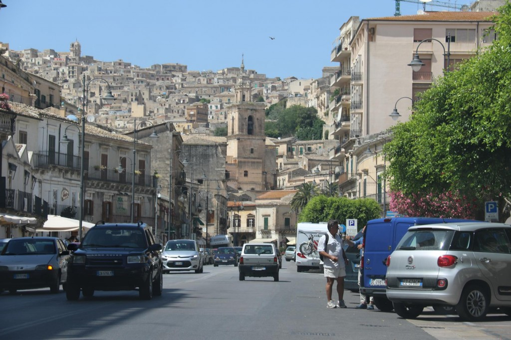 Our next stop is visiting the town of Modica which is close to Scicli