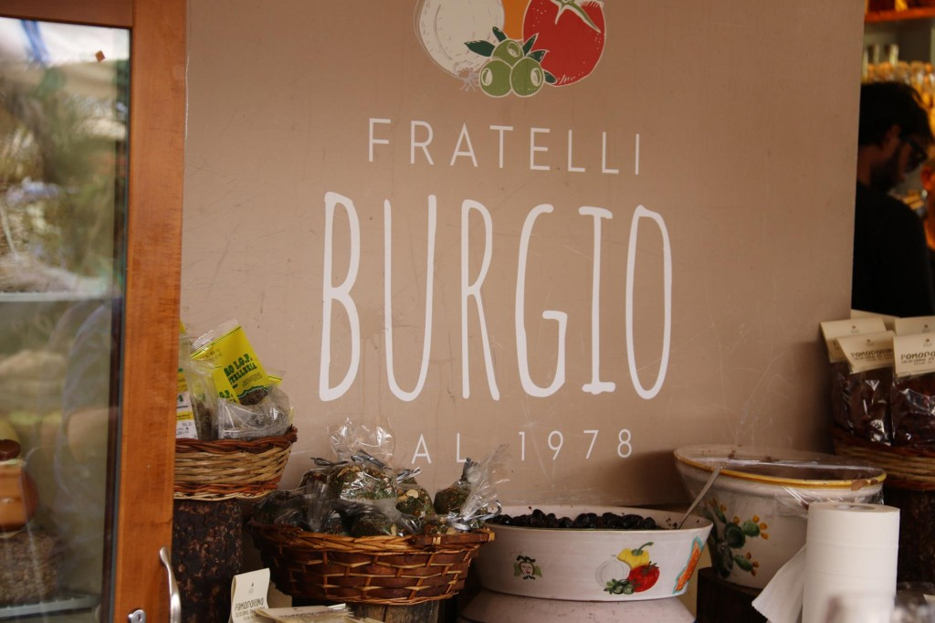 This busy Deli in Piazza Cesare Battisi is also beside the fabulous market