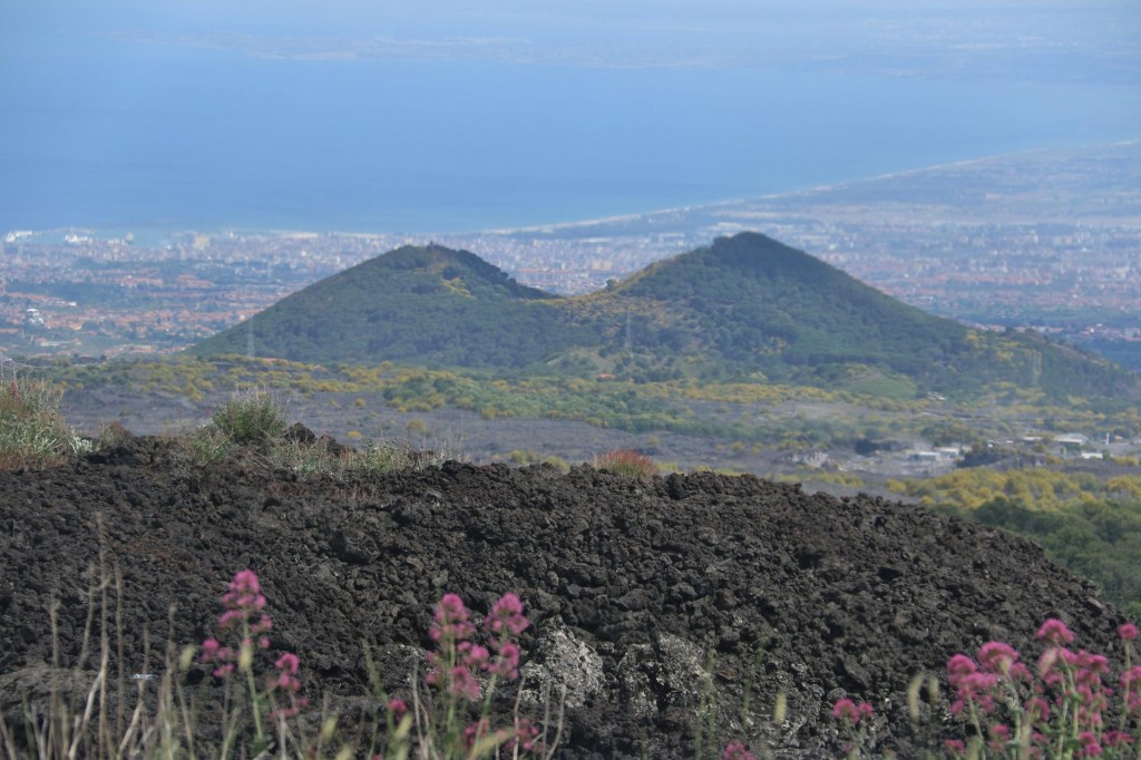 The scenery at and from Mt Etna is certainly amazing