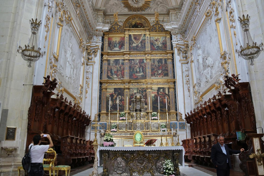 The exquisite chancel of the Cathedral