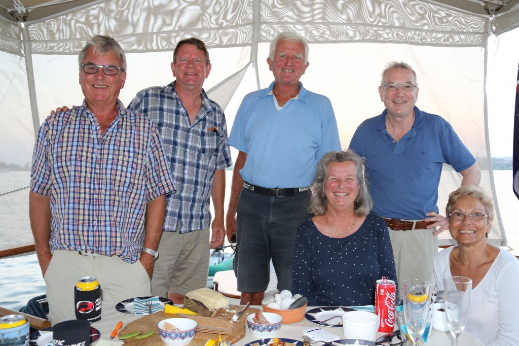 An impromtu visit from our sailing acquaintances that we met in Malta
