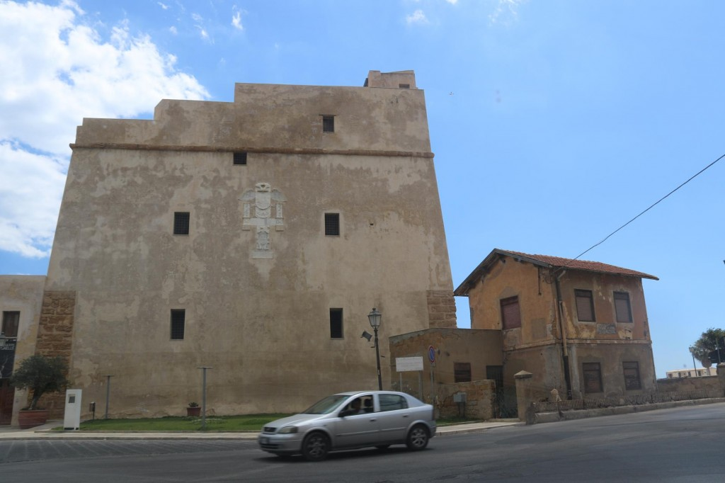 This tower was converted into a prison and now is a social and cultural centre