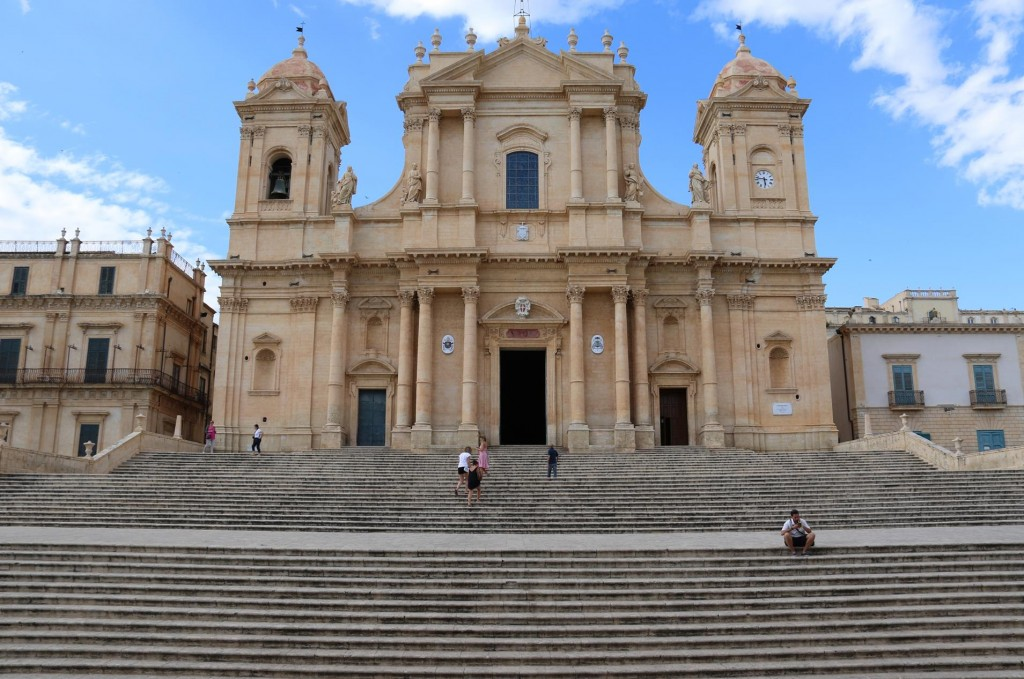 Next stop is the San Nicolo Cathedral of Noto