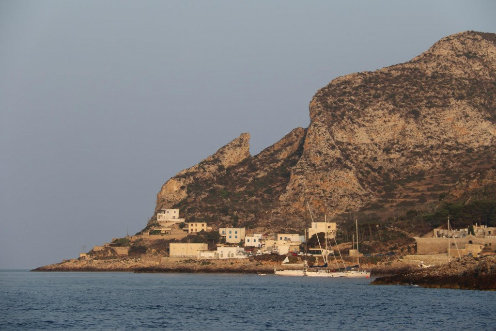 The picturesque village of  Cala Dogana nearby