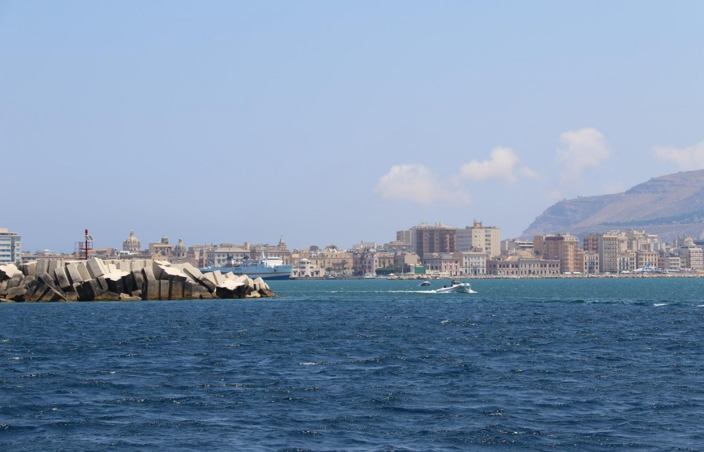 We plan to return to Trapani in 4 days time to have our water maker put back in after repairs
