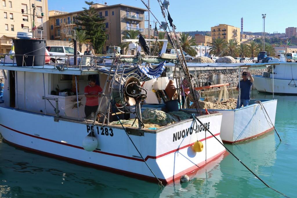 Goodbye to the friendly fishermen