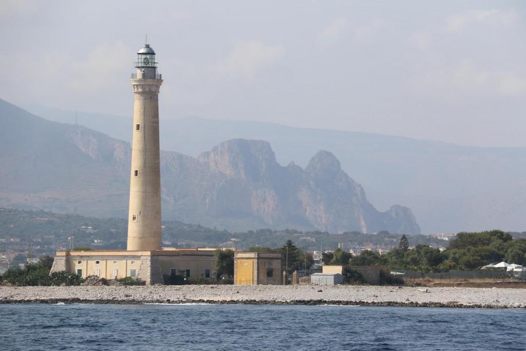 The lighthouse at Capo San Vito