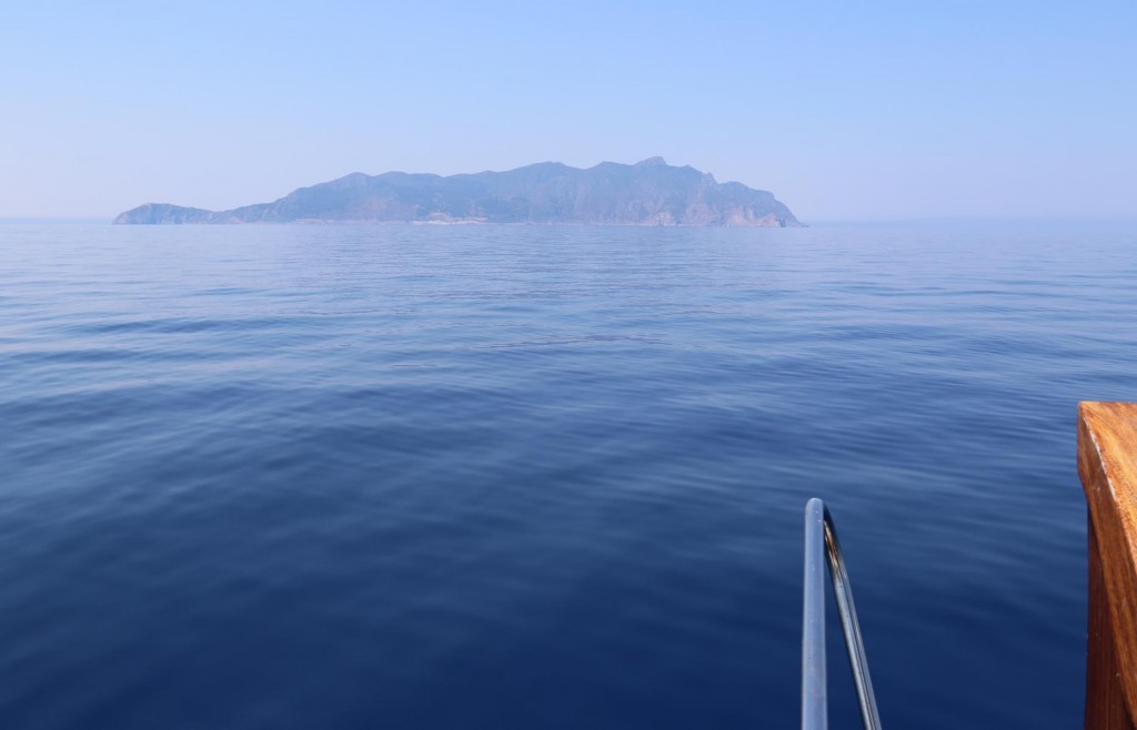 Now we head west to Isola  Marettimo, one of the other islands in the Egadi group