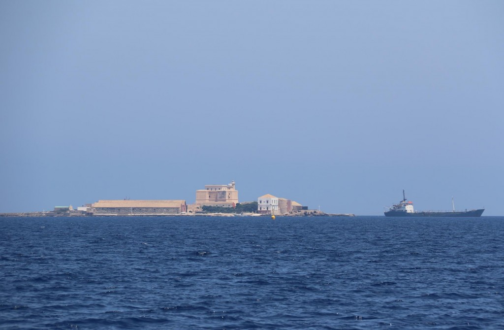 Isola Formica is a small islet between Levanzo Island and trapani that has a tunny factory