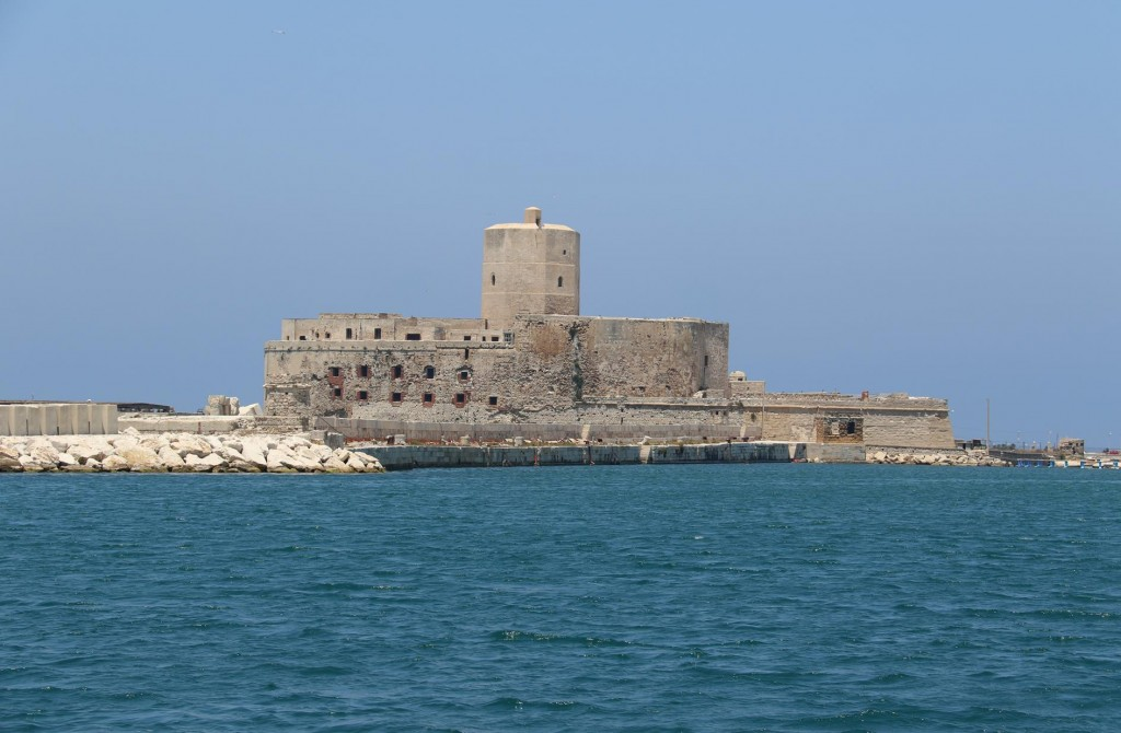 The old lighthouse of Trapani