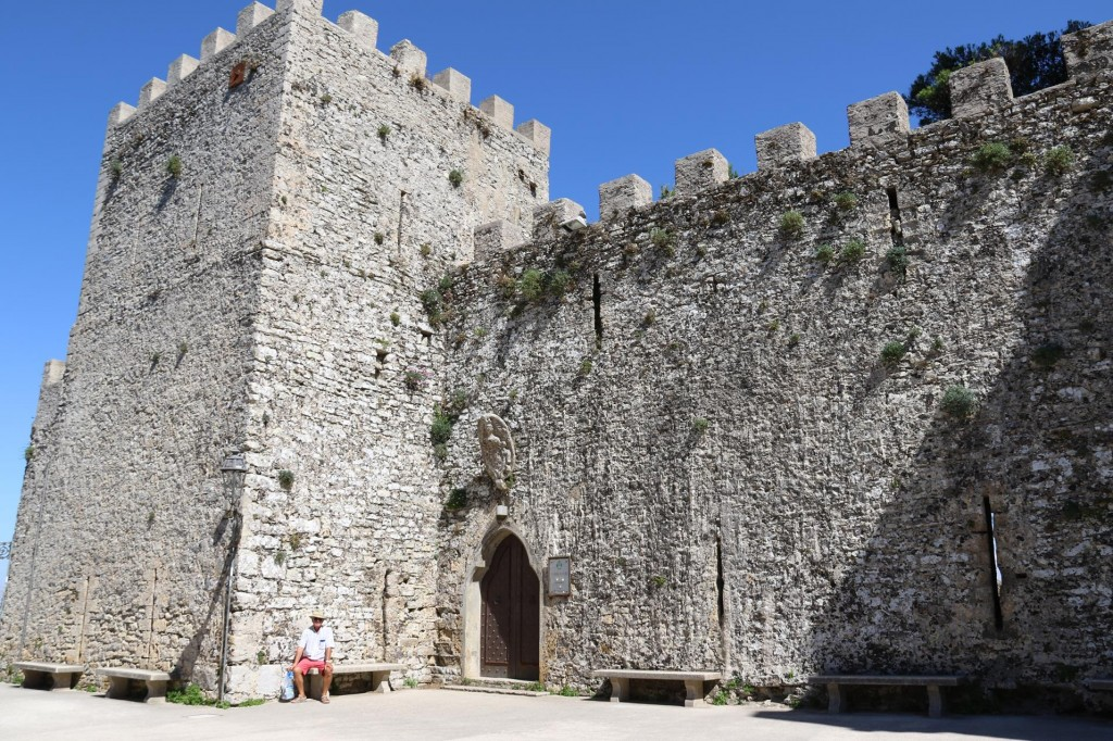 The entrance to the Castle of Venus